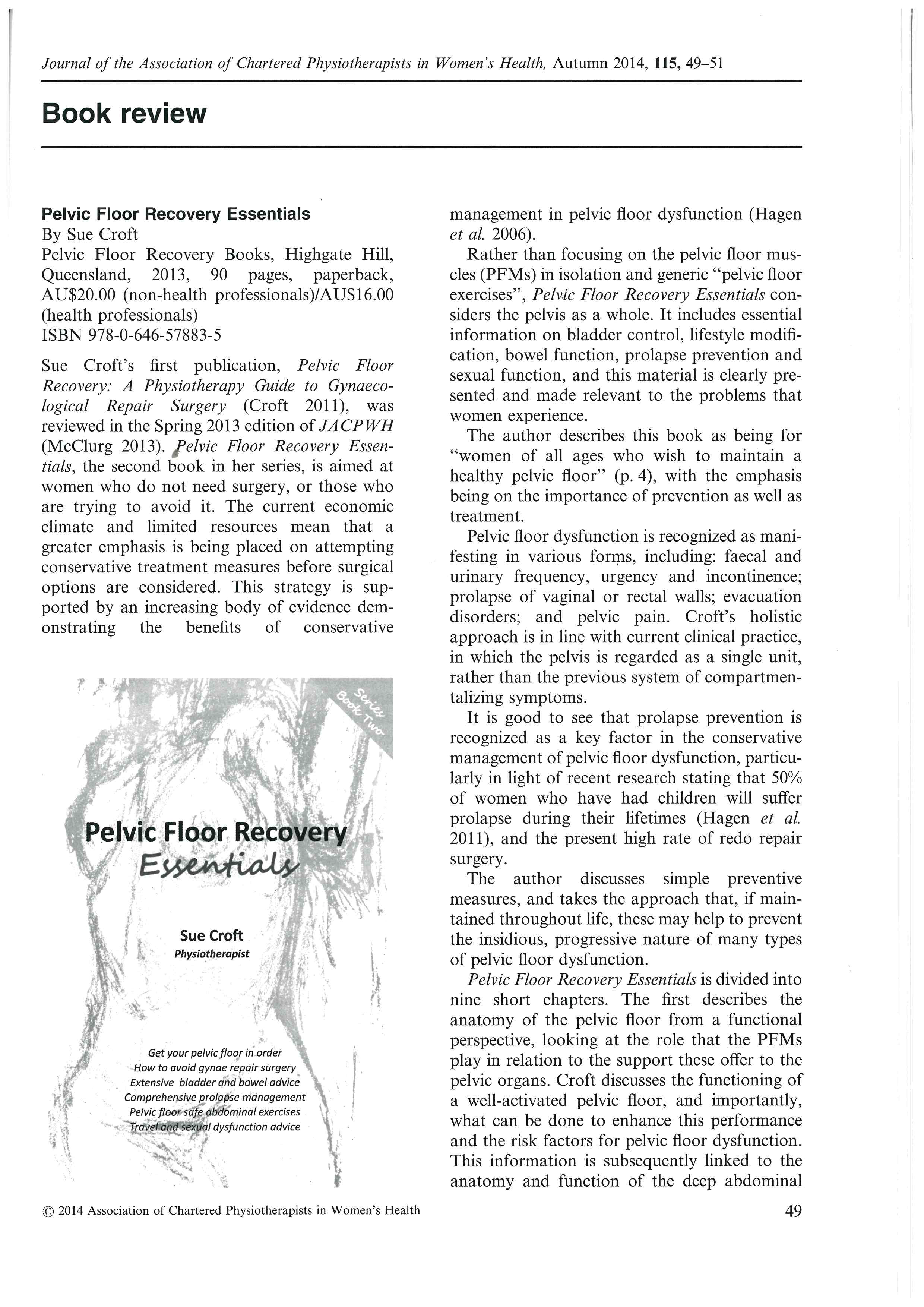 UK Journal ACP Women's Health Pelvic Floor Essentials book review_Page_1